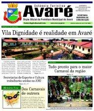 Vila Dignidade é realidade em Avaré - Câmara Municipal da ...