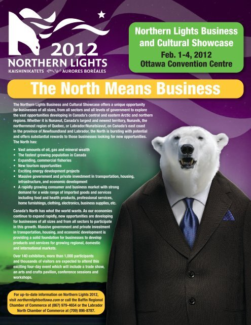 The North Means Business - Northern Lights