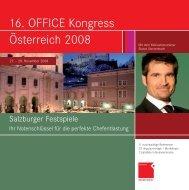 O? 2008_16_normal:Österreich 2008 - OFFICE SEMINARE