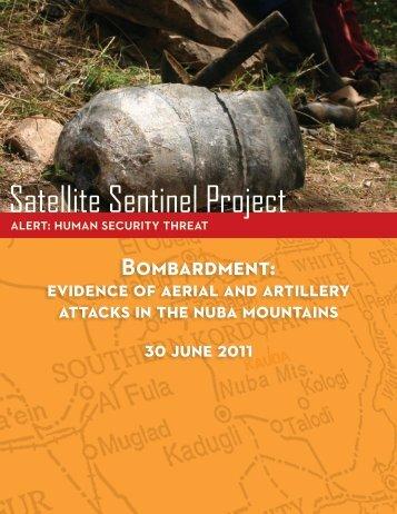Bombarding the Nuba - Satellite Sentinel Project