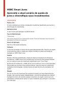 HSBC Smart Juros Aproveite o atual cenário de queda de juros e ... - Page 4