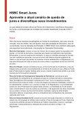 HSBC Smart Juros Aproveite o atual cenário de queda de juros e ... - Page 6