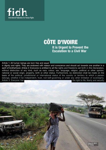 Côte D'IvoIre - FIDH