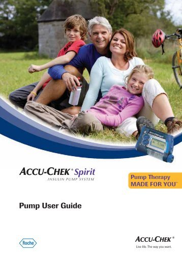 Pump User Guide - ACCU-CHEK Insulin Pumps