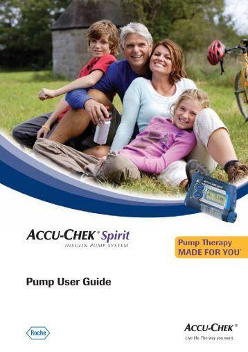 Pump User Guide - ACCU-CHEK Insulin Pumps