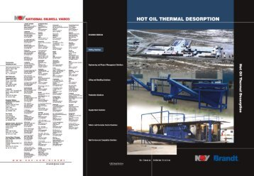 Page 1 Page 2 Hot Oil Thermal Desorption KQY Brandt. Dil-Based ...