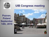 Presentation CONGRESS - Uibaker.org