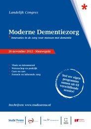 Congresprogramma - Anders Zorgen