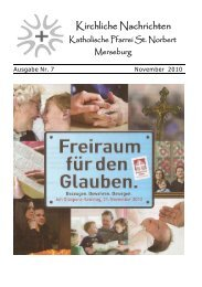 Ausgabe Nr. 7, November 2010 ( PDF -Datei, 351 kB) - Katholische ...