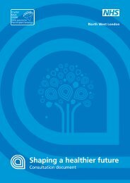 Consultation document.pdf - Shaping a healthier future