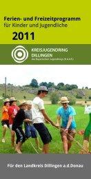 Ferien - Kreisjugendring Landkreis Dillingen