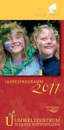 Jahresprogramm 2011 - Vorderer Bayerischer Wald
