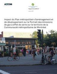 Impact du Plan métropolitain d'aménagement et de ... - PMAD