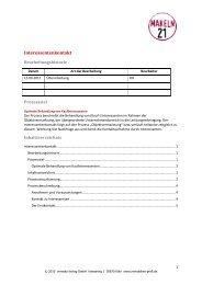 Interessentenkontakt - Immobilien Profi