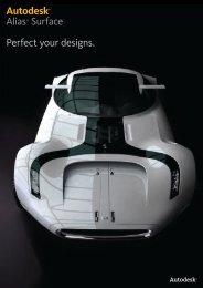 Autodesk Alias Surface 2011 Brochure - Cadac Group