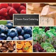 Classic Fare Catering C - CampusDish