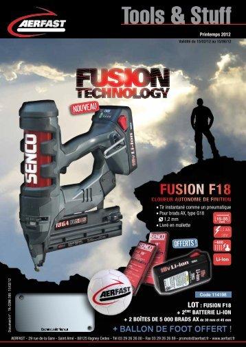 FUSION F18 FUSION F18 - van aerden group