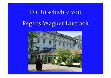 2 Teil Geschichte des Hauses - Regens Wagner Lautrach