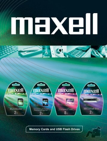 Memory Cards and USB Flash Drives - Maxell Canada