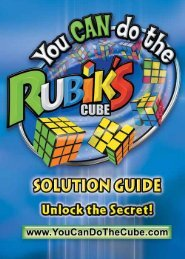 Download the solution - You CAN Do the Rubik's Cube!