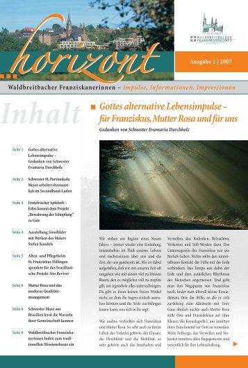 Gottes alternative Lebensimpulse - Waldbreitbacher ...