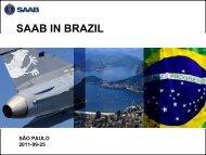 SAAB IN BRAZIL
