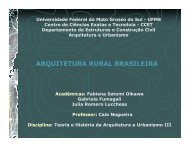 ARQUITETURA RURAL BRASILEIRA - Histeo.dec.ufms.br