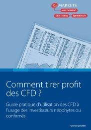 Comment tirer profit des CFD ? - Zonebourse.com