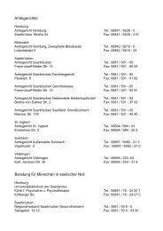 Telefon-Telefax und E-Mail-Adressen der Standesämter im Saarland