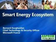 Bernard Ourghanlian Chief Technology & Security Officer ... - Asprom