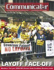 LAYOFF FACE-OFF - TheCommunicator.org