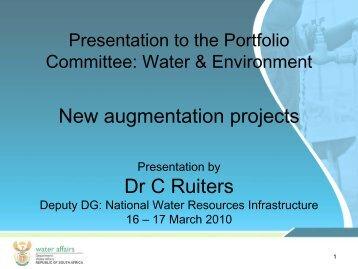 New Augmentation Projects presentation