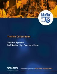 Titeflex Corporation - Aero-Hose
