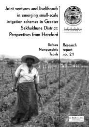 Joint Ventures and Livelihoods in Emerging ... - Repository Home