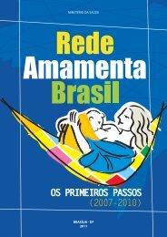 Rede Amamenta Brasil: os primeiros passos - BVS Ministério da ...