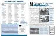 Ozanam Honors & Memorials