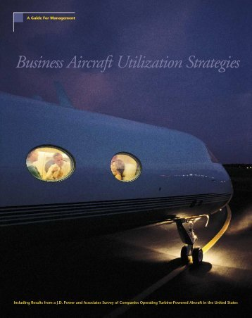 Business Aircraft Utilization Strategies - Omni Jet Trading