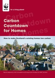 Carbon Countdown for Homes - WWF UK