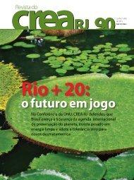 Rio+20: O futuro em jogo - Crea-RJ