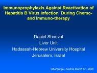 Reactivation of HBV - gastroenterologie-wintertreffen.at