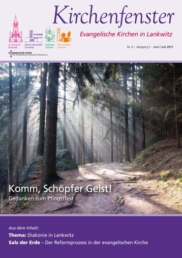 Komm, Schöpfer Geist! - Lankwitz-Kirche.