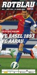FC Basel 1893 FC aarau