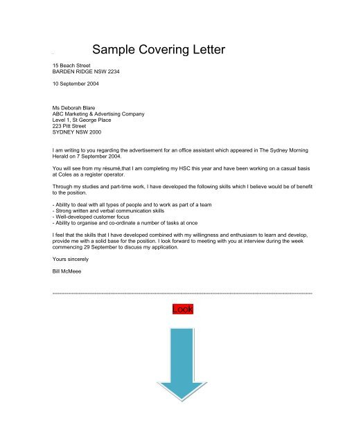 Communication Skills Cover Letter from img.yumpu.com
