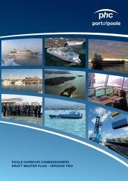 download master plan - Poole Harbour Commissioners