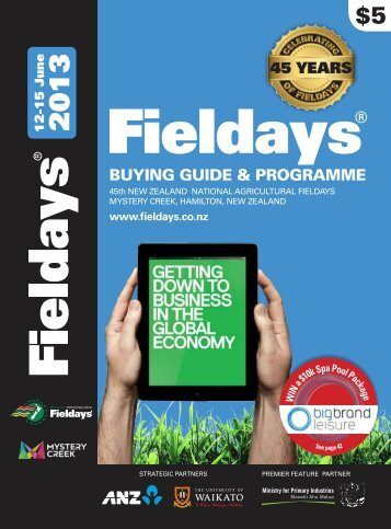 Programme - New Zealand National Agricultural Fieldays