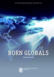 BORN GLOBALS - Entreprenörskapsforum