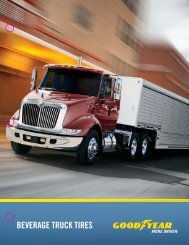 Radial Truck Tire And Retread Service Manual - Goodyear Truck