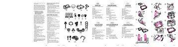 liste des pieces lijst van onderdelen parts list gb fde ... - Tookie.ro
