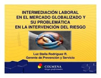 El mercado globalizado y su problemática en la intervención del ...