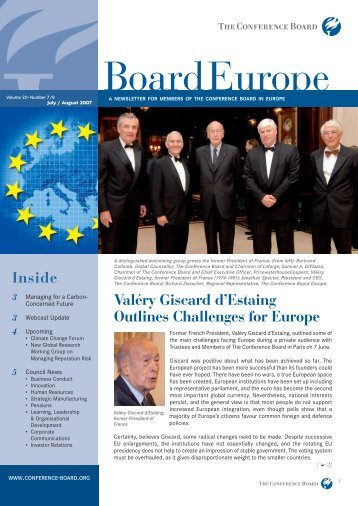 Board Europe - The Conference Board